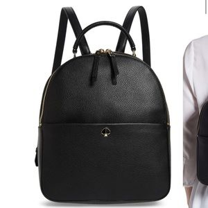 Kate spade leather backpack medium